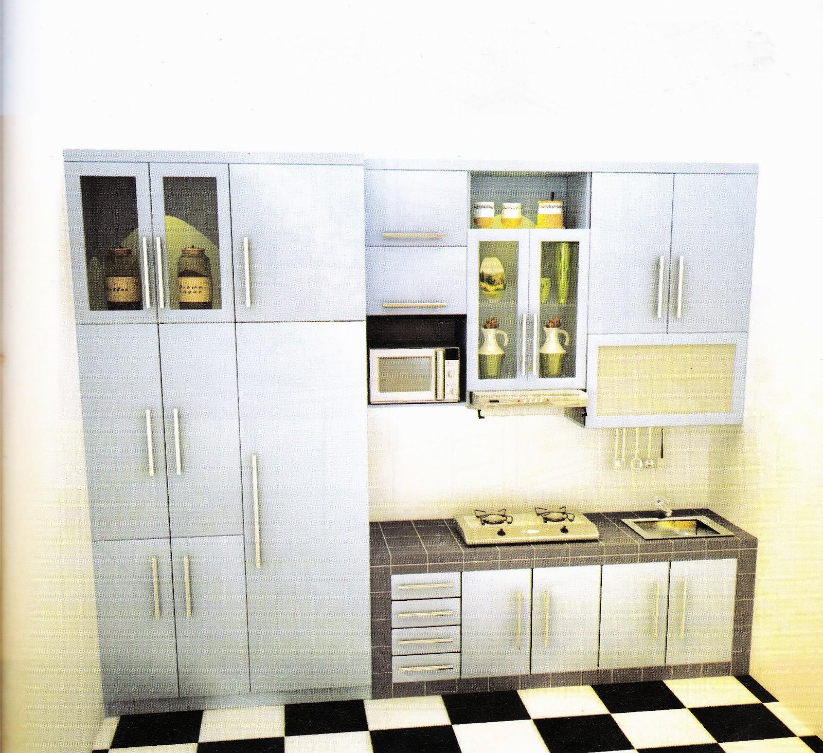 Jasa pembuatan kitchen set murah for Kitchen set jadi murah