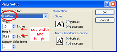 Set Widescreen in PowerPoint 2007 - 3