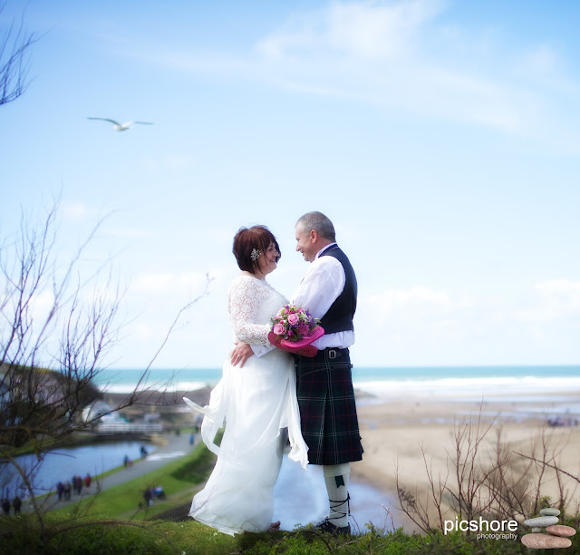 The Castle Bude cornwall wedding Picshore Photography Cornwall Beach wedding