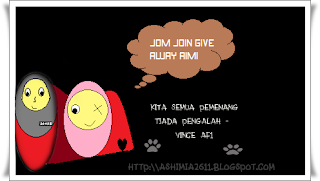 Jom Join Give Away Aimi !
