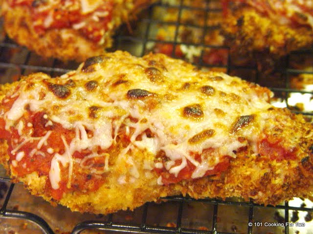 Chicken Parmesan - An Easy Company Feast from 101 Cooking For Two