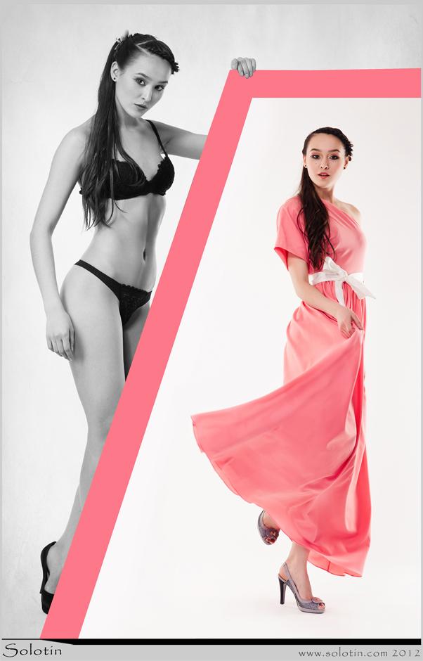 Алина Симоненко, журнал, женский, Тамбов, девушка, платье, реклама