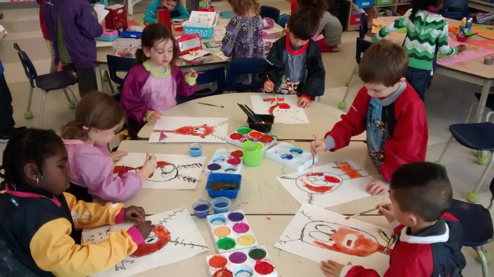 La Maternelle De Francesca Nos Petits Rennes Au Nez Rouge