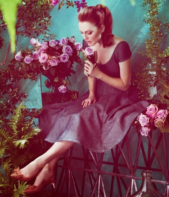 Romantic Florals Julianne Moore   by Cool Chic Style Fashion