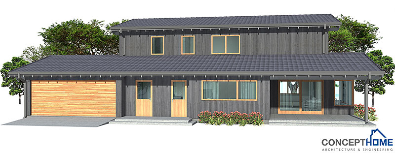 Affordable Home Plans Modern Affordable Home Ch123