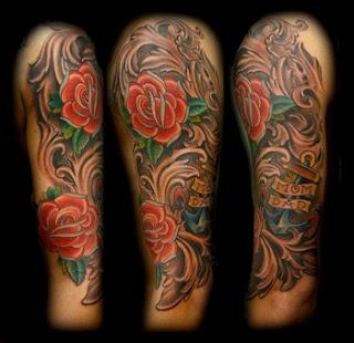 adele tattoo best half sleeve tattoo for men 2012 new. Black Bedroom Furniture Sets. Home Design Ideas