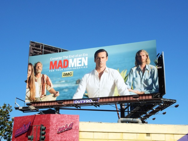Mad Men Emmy 2015 Don Draper billboard