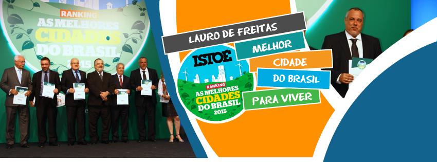Prêmio de Melhor Cidade do Brasil