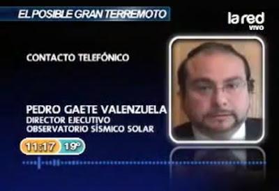 pedro gaete sobre el megaterremoto en chile mayo 2012