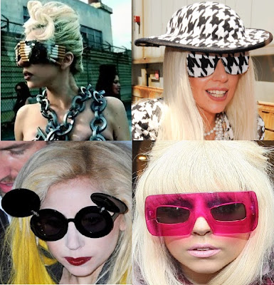 Lady Gaga's Playful Sunglasses