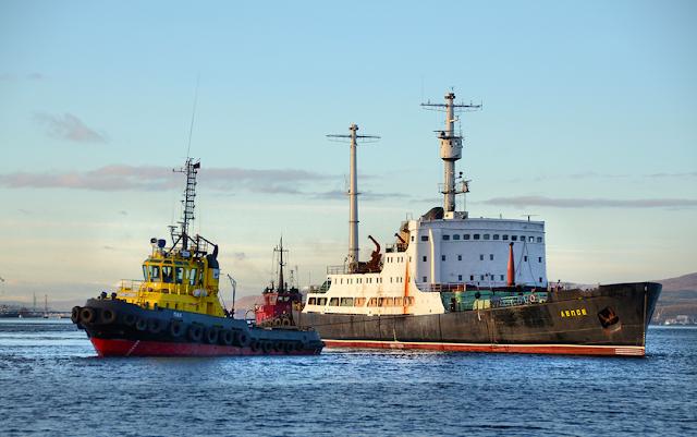 Lepse nuclear service ship