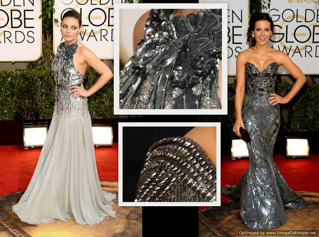 kate beckinsale globes dress