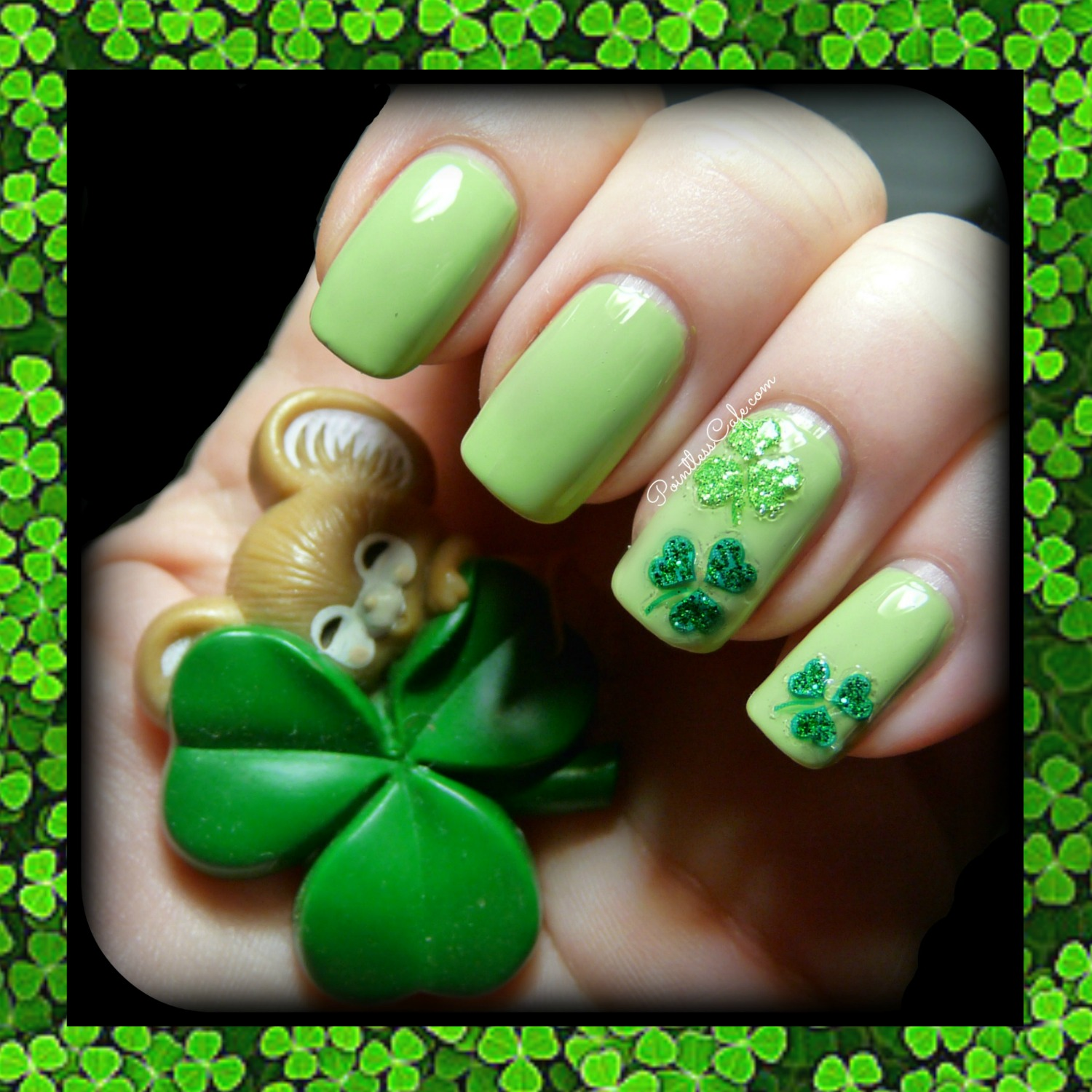 Joby Nail Art Stickers - Shamrocks for St. Patrick\'s Day | Pointless ...