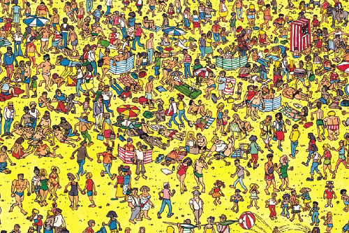 where is waldo. Nokia c3 Game Where is Wally