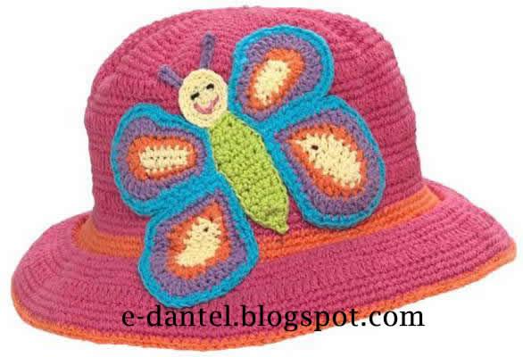 Kelebekli Şapka Yapımı