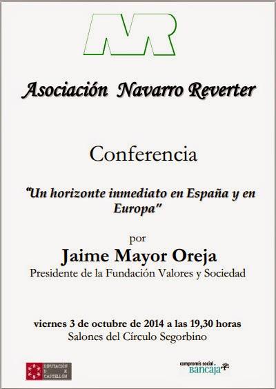 Jaime Mayor Oreja en Segorbe