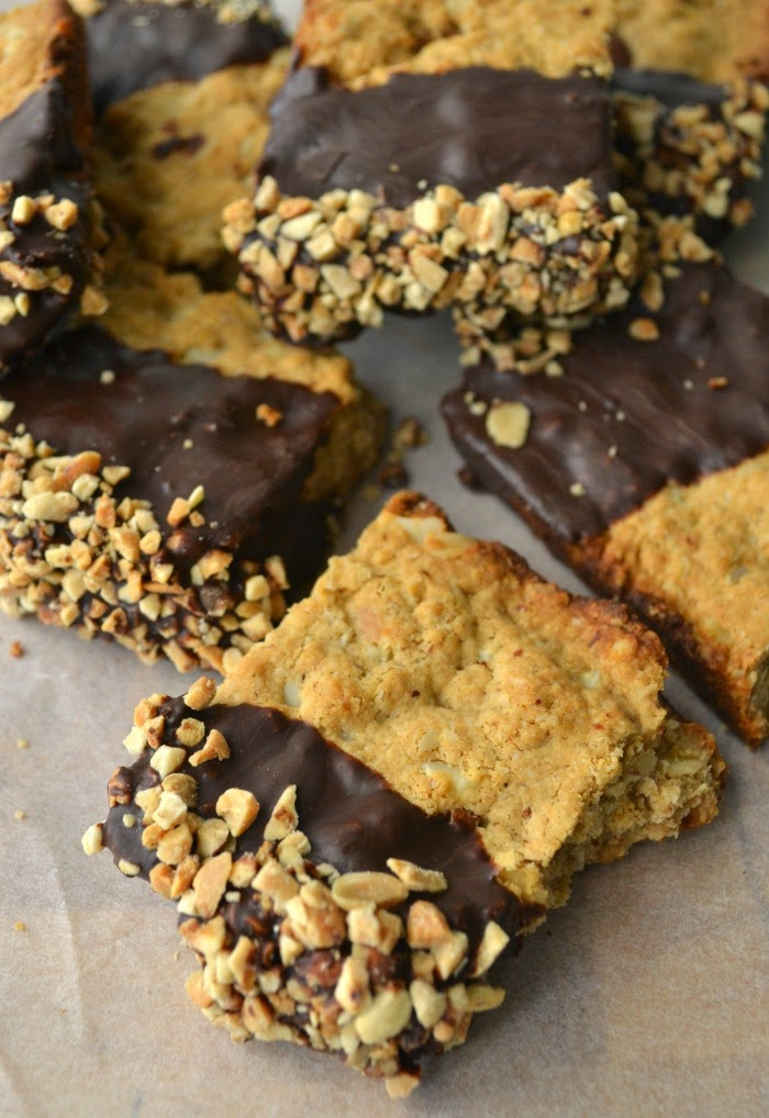 Chocolate and Nut Protein Bars