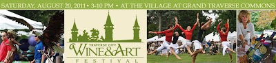 3rd Annual Traverse City Wine & Art Festival coming Aug. 20