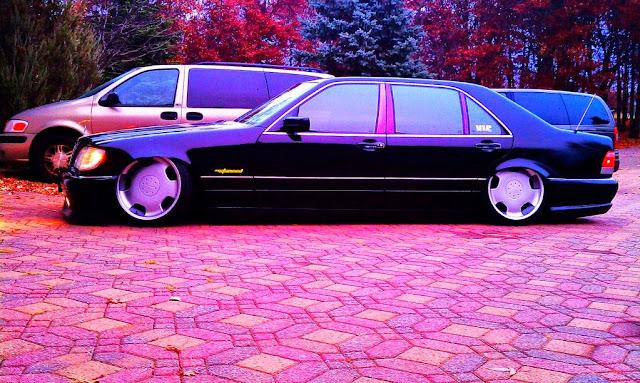 mercedes s w140 vip style