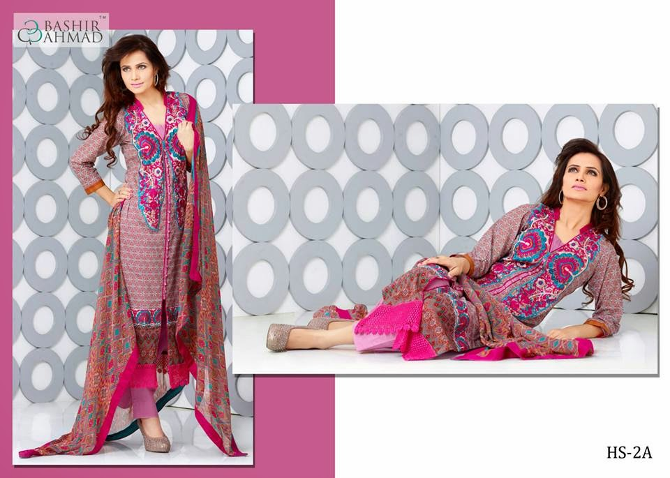 Bashir Ahmed Summer Lawn 2015 Collection
