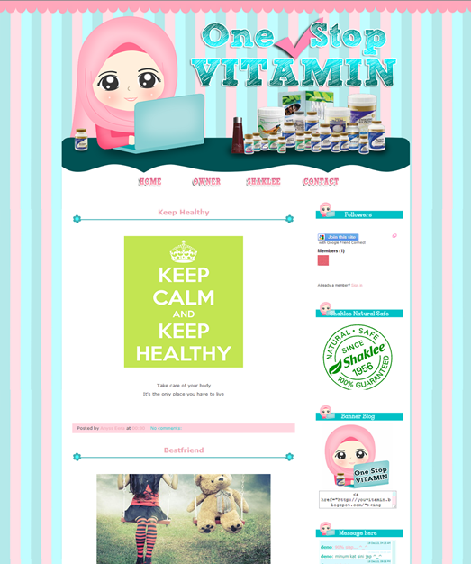 Tempahan : Full Edit &  Design For One Stop Vitamin