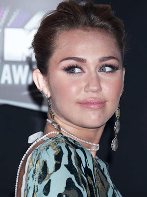 Miley Cyrus Gemstone Chandelier Earrings