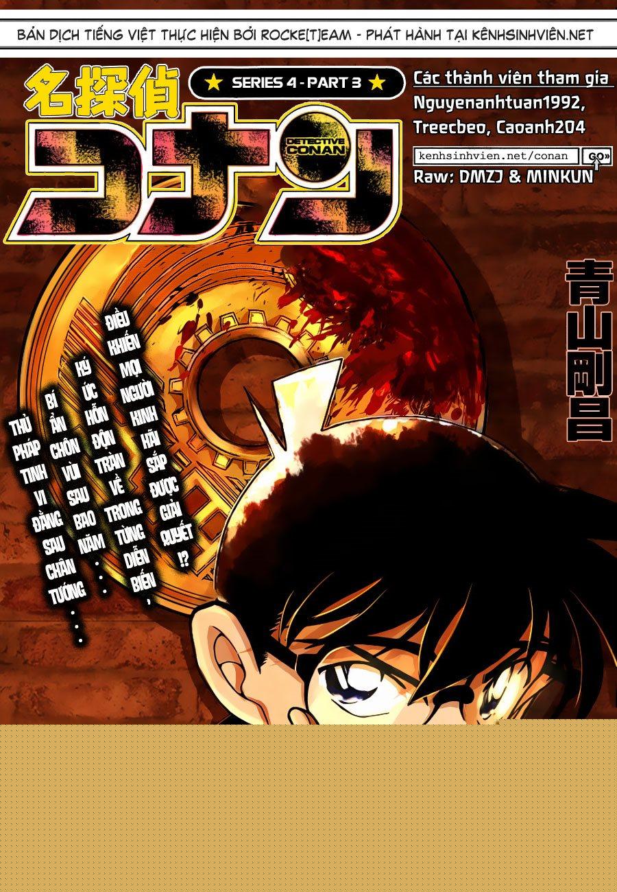 Detective Conan - Thám Tử Lừng Danh Conan chap 852 page 1 - IZTruyenTranh.com