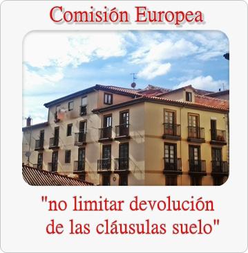 Unas l neas de derecho la comisi n europea cree que no se for Que son las clausulas suelo