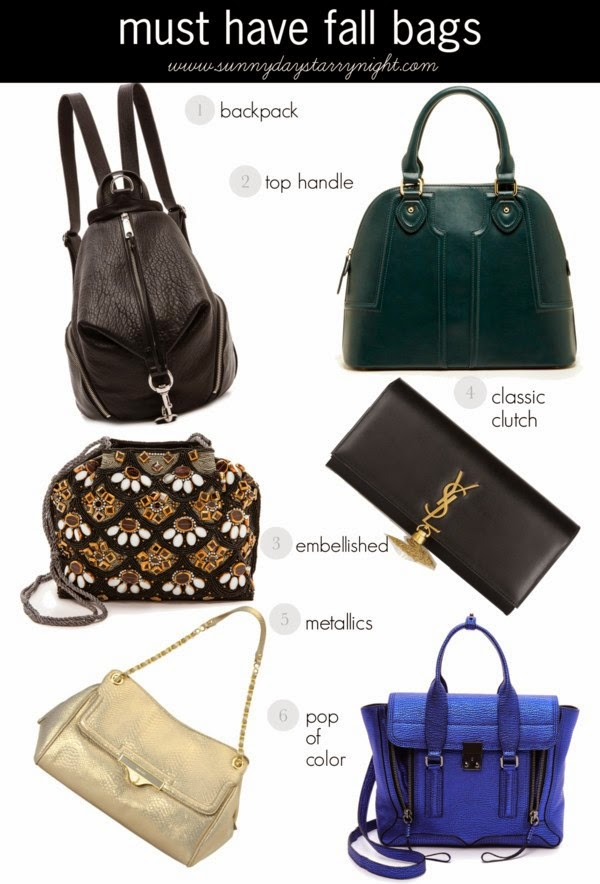 must have bags for fall 2014
