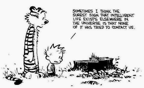 Calvin Hobbes Vida Inteligente