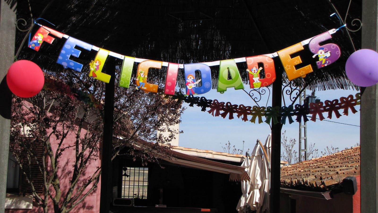 Cumpleaños en Hospedería Ballesteros