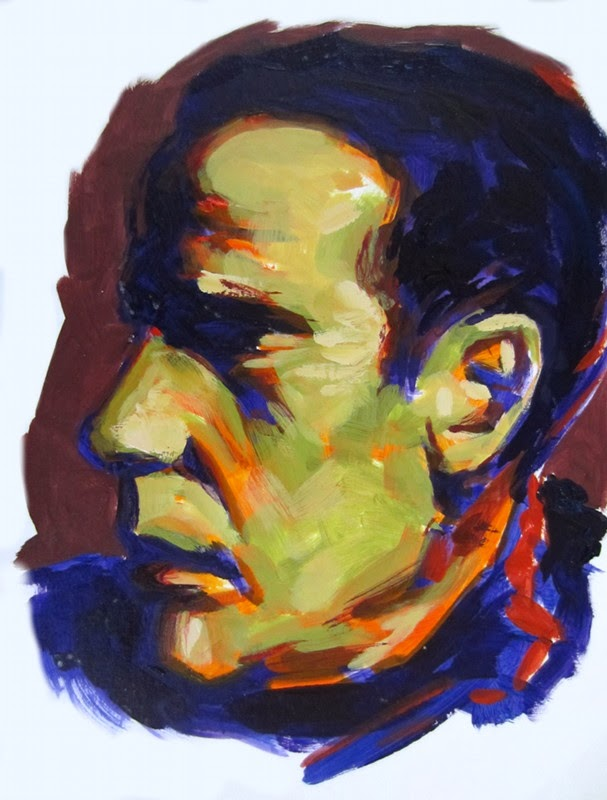 I Found A Book Of Photos Humphrey Bogart That Had Dramatic Lighting And They Worked Well For Some Studies