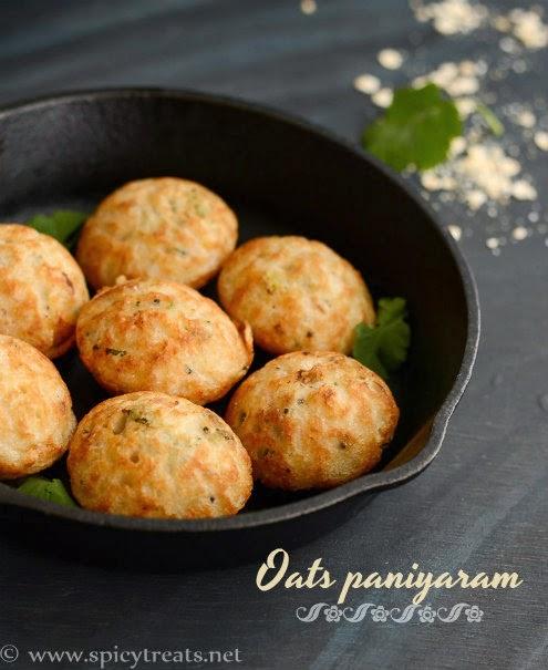 Instant Oats Paniyaram