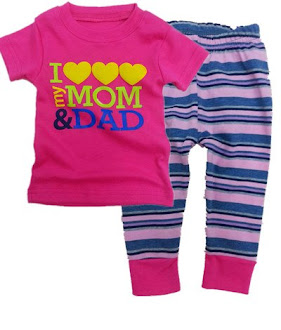 Clearance Stock - RM25 : Pyjama For Baby Girl