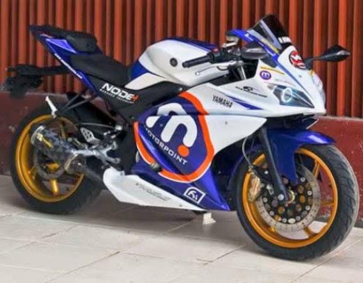Yamaha Vixion dengan Full Fairing