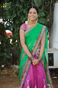Actress Anjali Rao in Half Saree-thumbnail-13