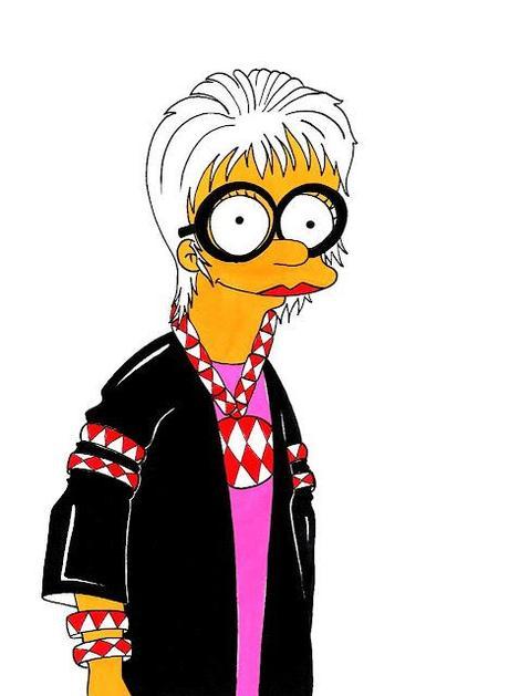 Iris Apfel by Matt Groening