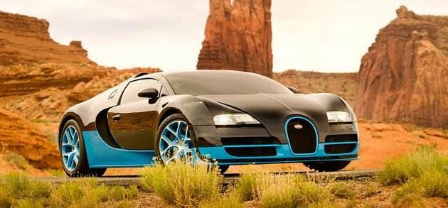 Transformers 4 - Bugatti Grad Sport Vitesse