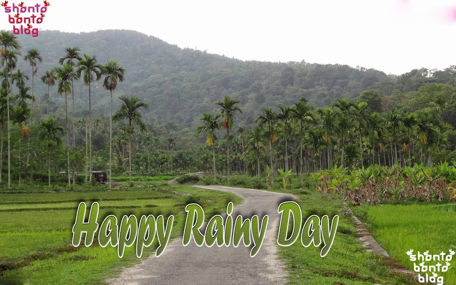 wallpaper of happy rainy day impremedianet