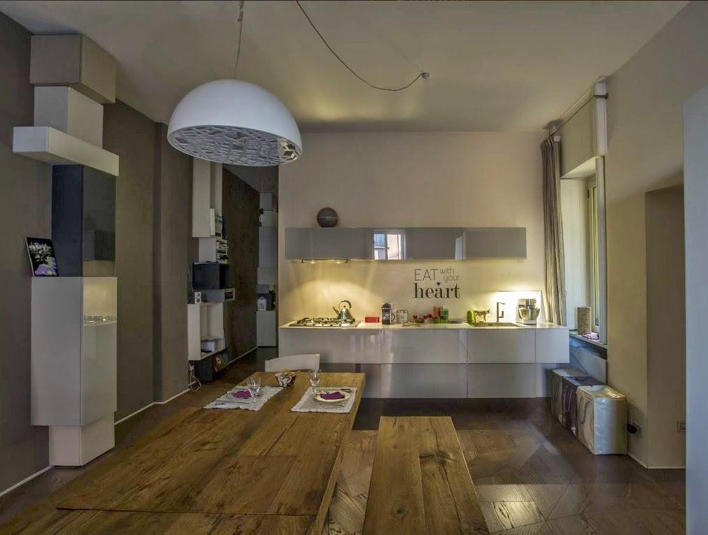 Doos interiorismo appartamento de lago en milan - Interiorismo valladolid ...