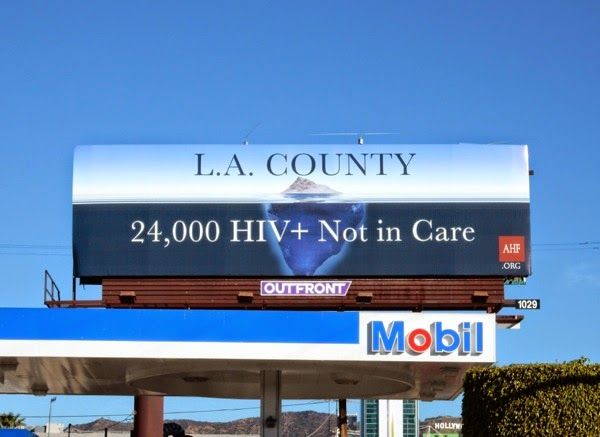 LA County 24k HIV Not in care billboard