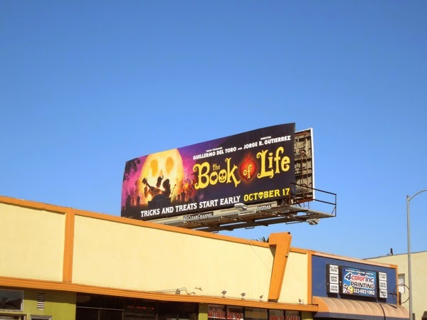 The Book of Life film billboard