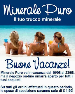 Minerale Puro - Chiusura per ferie e spedizione a 1,90€