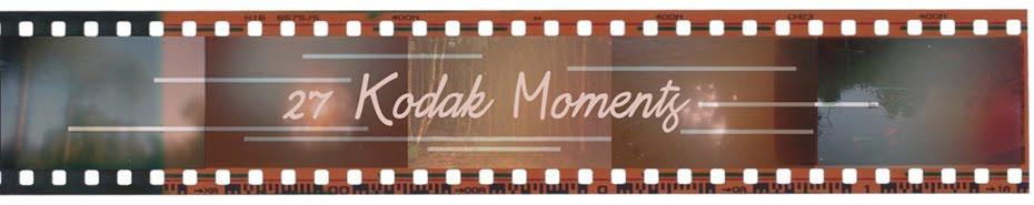 27 Kodak Moments