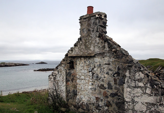 Empty ruin at Sorisdale Bay - Isle of Coll, Scotland