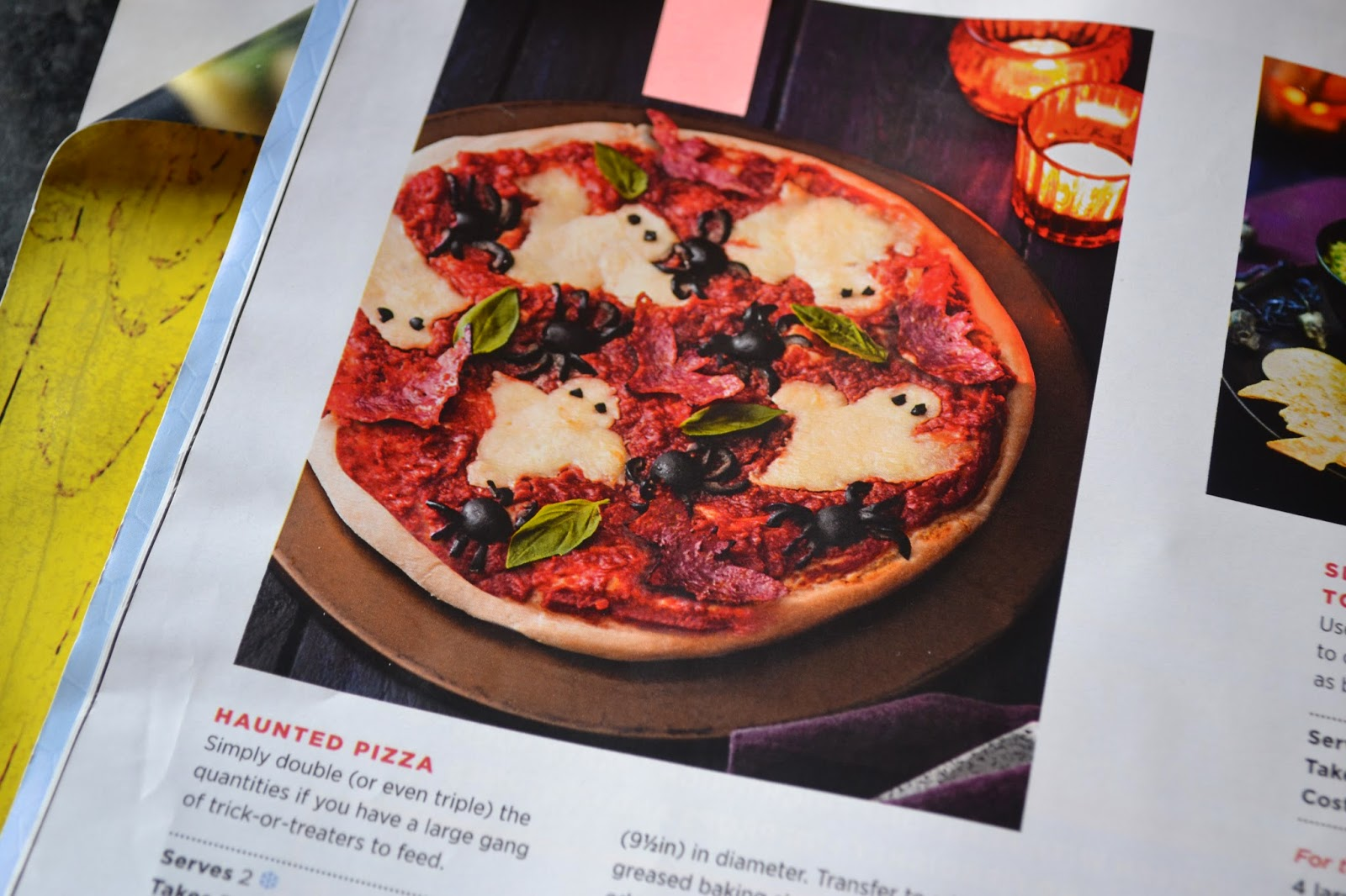 Tesco Haunted Pizza