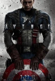 captain america 2011 poster