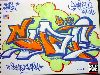 Swag Graffiti Letter