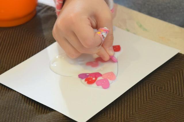Cute As A Button Valentine Craft for Preschoolers
