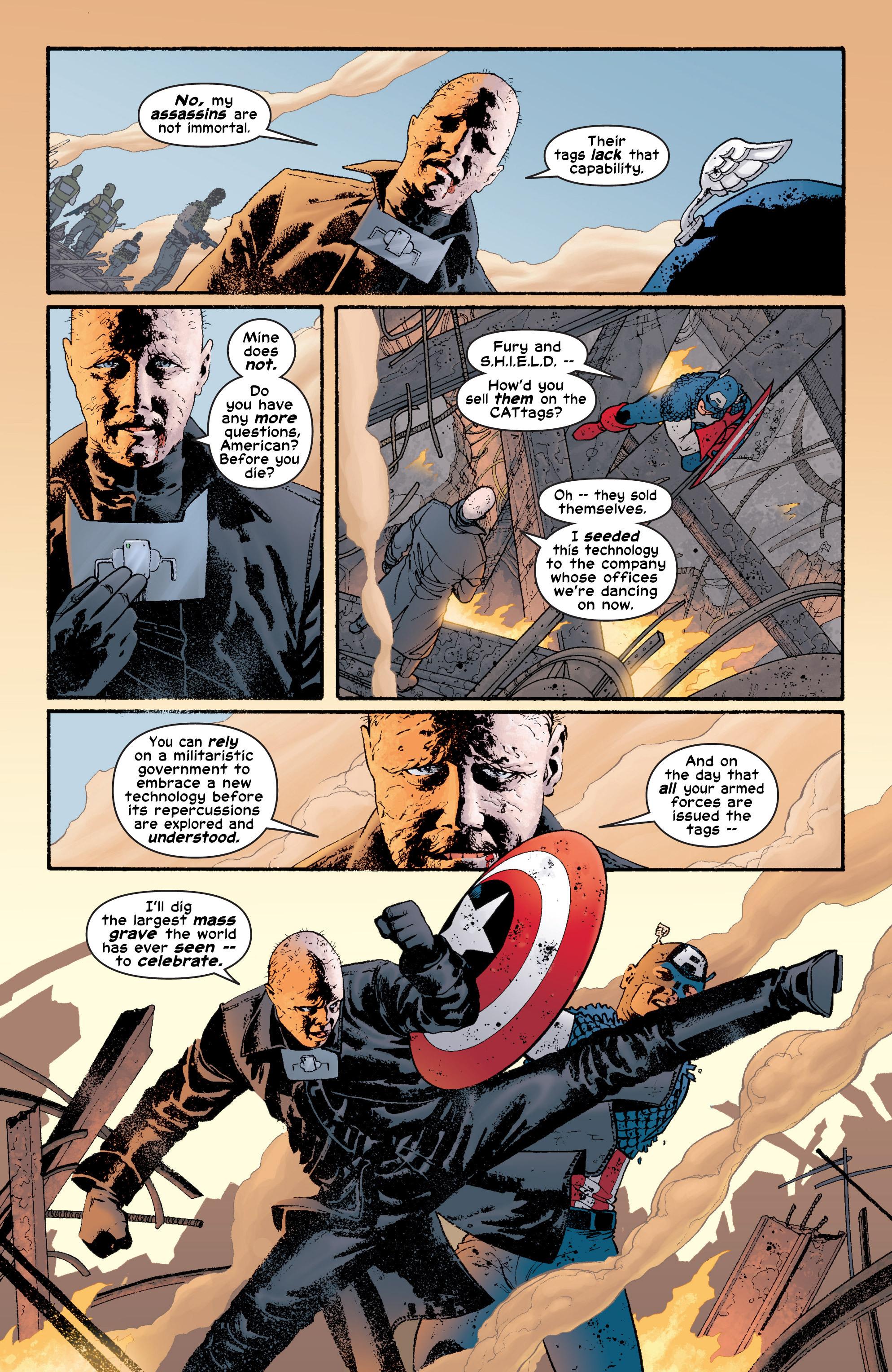 Captain America (2002) Issue #6 #7 - English 15